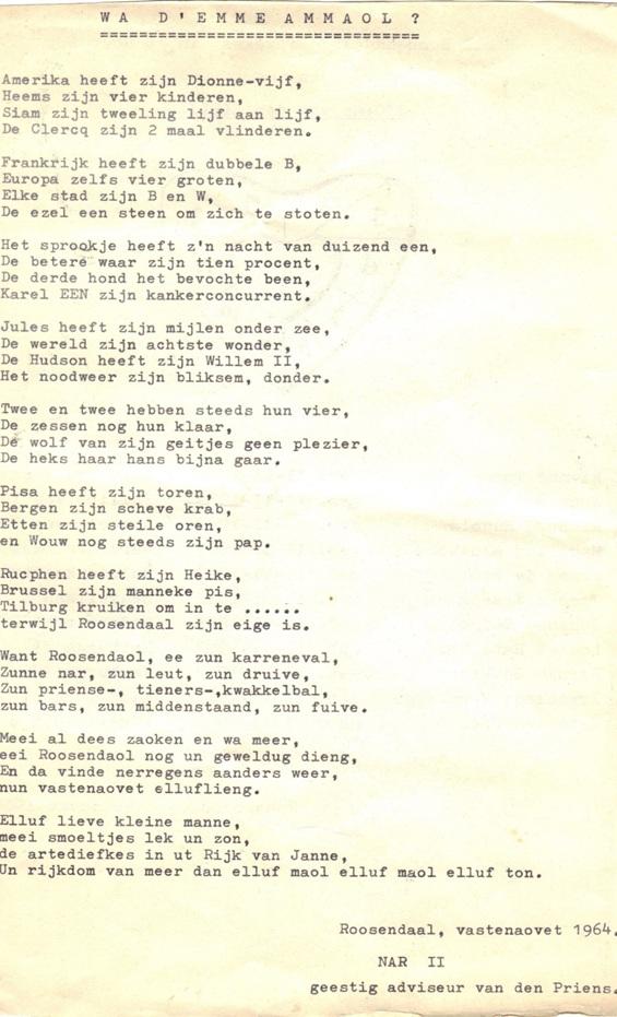gedicht opening vergadering school