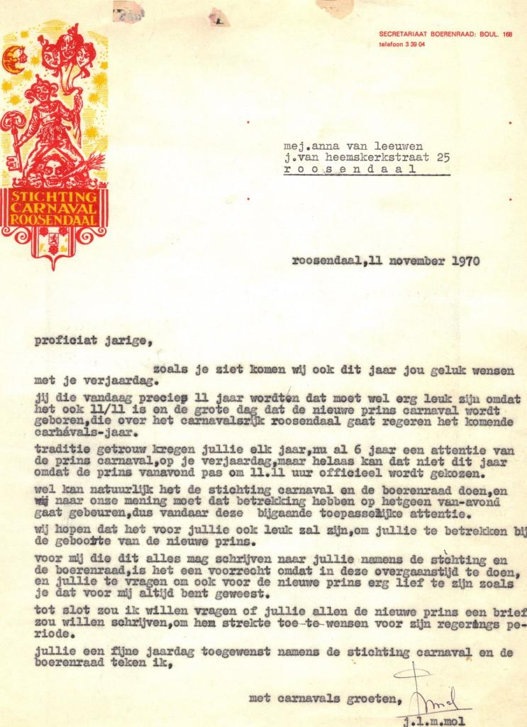 laatste brief Priens Jan
